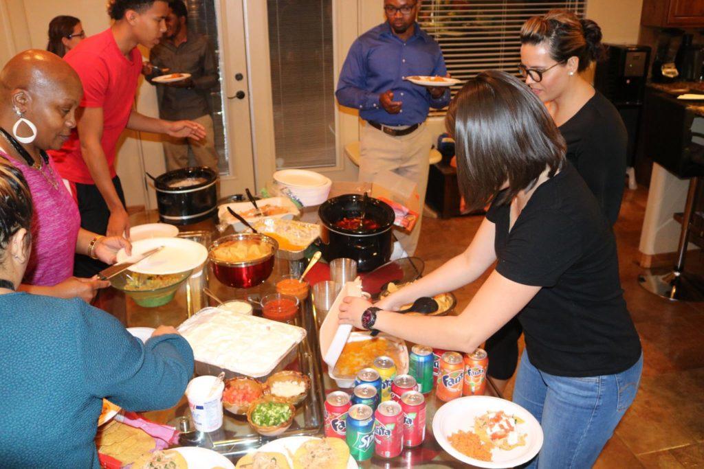 April 2017 House Fellowship (Mecxican Menu)